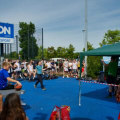 3×3 Turnier der Leipziger Basketballcommunity